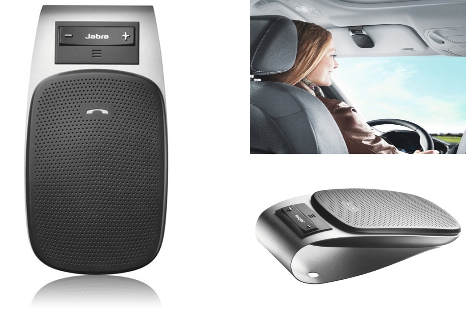 Jabra DRIVE Bluetooth In-Car Speakerphone: $30 shipped (up ...