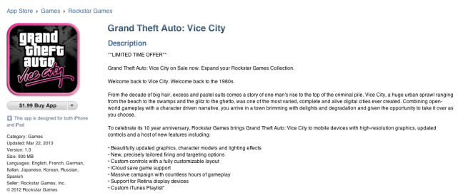 Screen Shot-GTA-Vice City-iOS