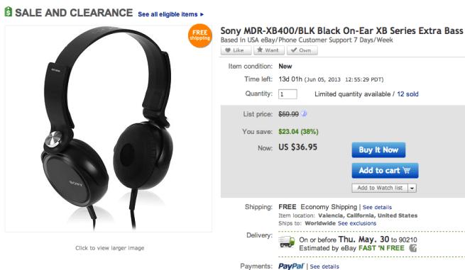 Sony-Black-Headphones