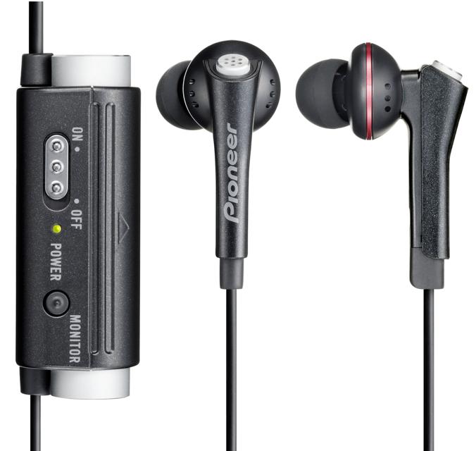 Pioneer-Pioneer SE-NC31C-K-headphones