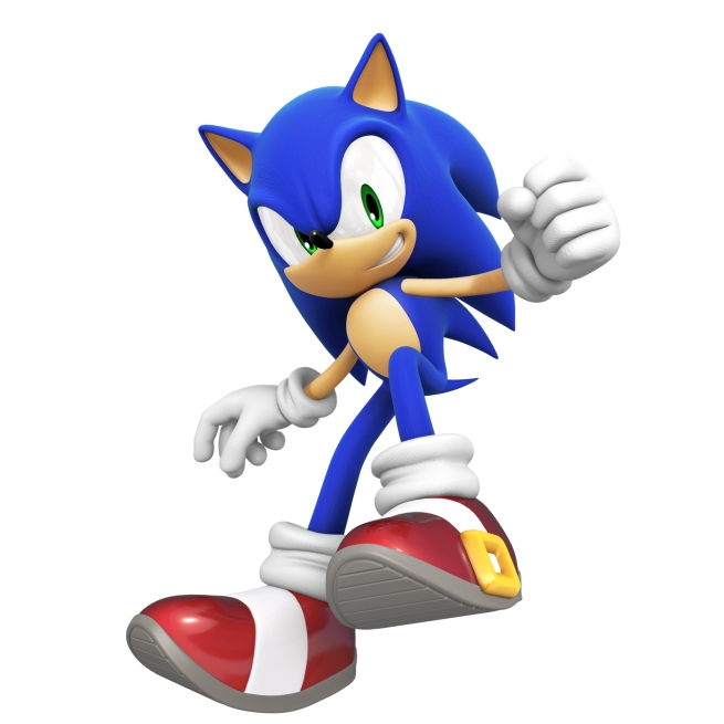 Sonic close up