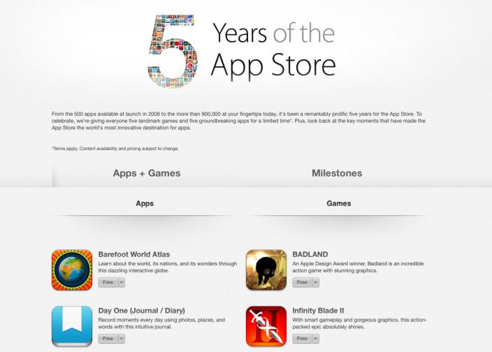 5-years-app-store