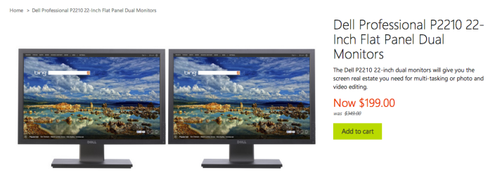Dell-P2210-22in-Dual-Monitors-sale-MS Store-02