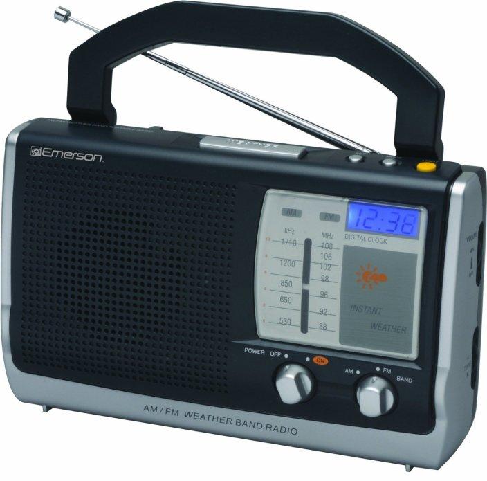 Emerson-Portable-Clock Radio-free