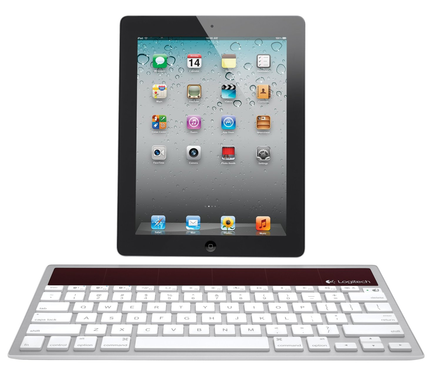 Logitech K760 Wireless Bluetooth Solar Keyboard for Mac/iPhone/iPad $33 Shipped (Reg. $80)