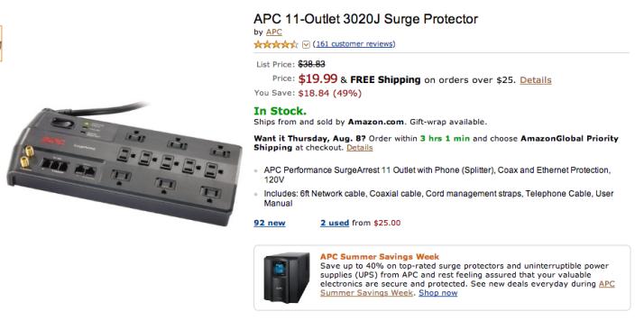 APC 11-Oulet 3020J-Surge Protector-sale-02