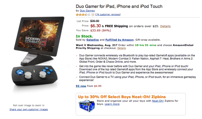 Duo Gamer-controller-iPad, iPhone-sale-02