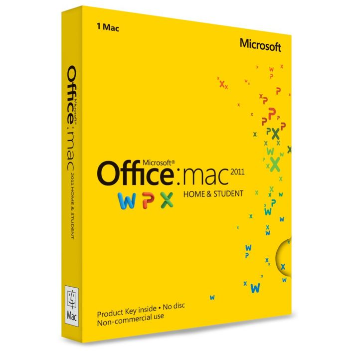 Microsoft Office Home And Student 2011 For Mac $90 Shipped