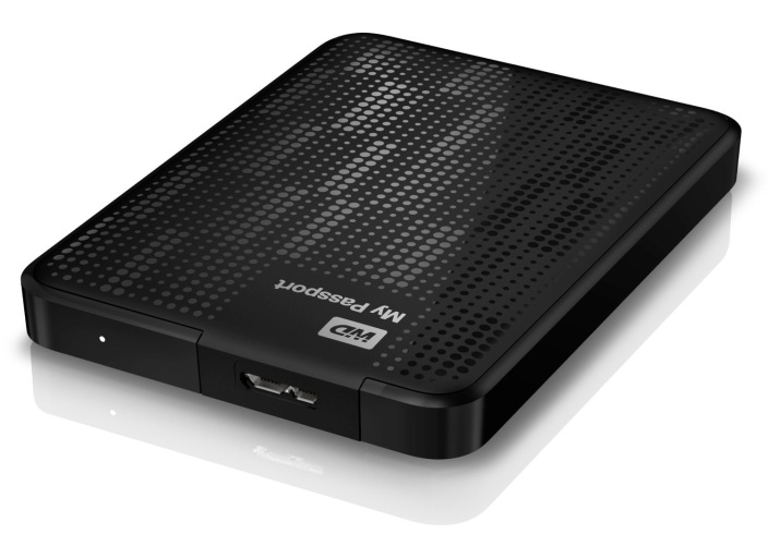 Western Digital My Passport-Portable Hard Drive-WDBBEP0010BBK-NESN-sale