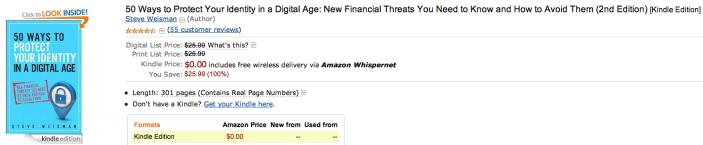 amazon-ebook-50-ways-protect-identity