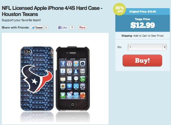 NFL-licensed-iphone-4:4s-houstan-texans