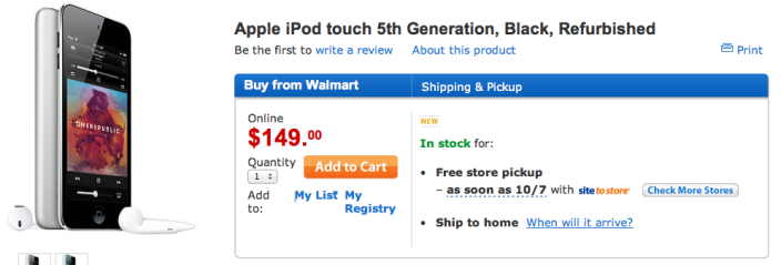 walmart-deal-ipod-touch-5th-gen-deal