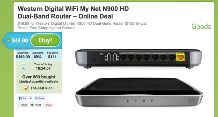 Western Digital-My Net N900 HD-dual band-wireless router-sale-03