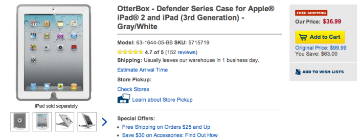 best-buy-otterbox-defender-ipad-deal