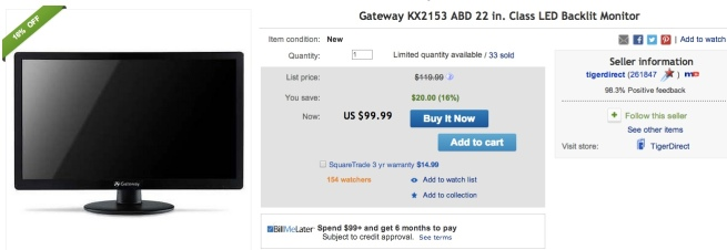 Gateway-KX2153-ABD-22-Class-LED-Backlit-Monitors