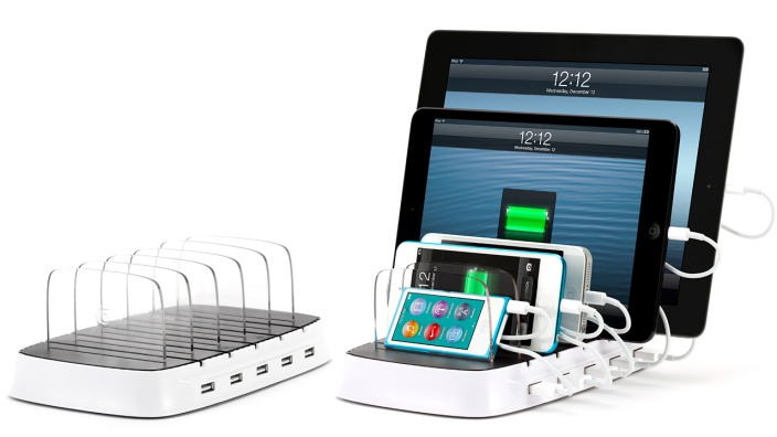 GC35538-Griffin PowerDock 5-charging station-iPhone-iPad-Android-01