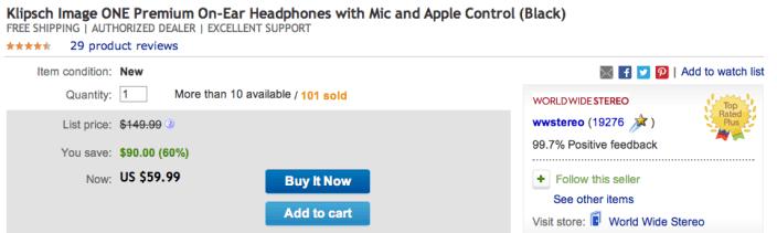 klipsch-image-one-headphones-ebay-ww-stereo
