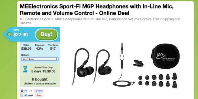 MEElectronics-Sport-Fi M6P-in-ear headphones-in-line-mic-remote-sale-04