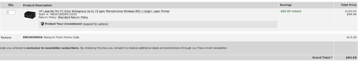 newegg-deal-HP-laser-printer
