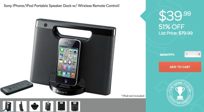 Sony-iPhone-iPod-Speaker-Dock