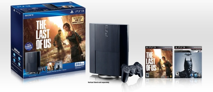 250GB-PS3-bundled-Batman Arkham Origins-The Last of Us-sale-01