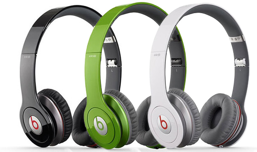 Beats-by-Dr.-Dre-Solo-HD Headphones- Detachable Cable, Case, & Mic:Remote Control on Cable