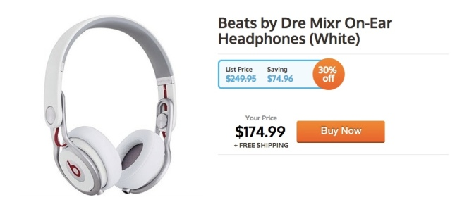 Beats-by-Dre-Mixr-On-Ear-Headphones-White