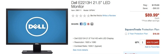 "Dell-E2213H-21.5""-LED-Monitors"