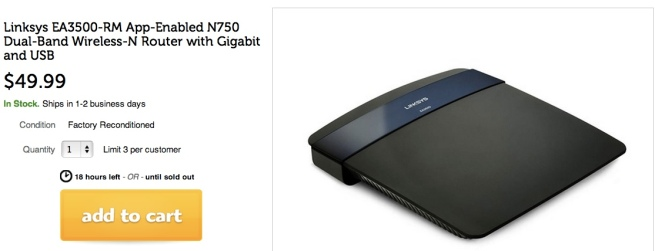 Linksys-App-Enabled-N750 Dual-Band-Wireless-NRouter