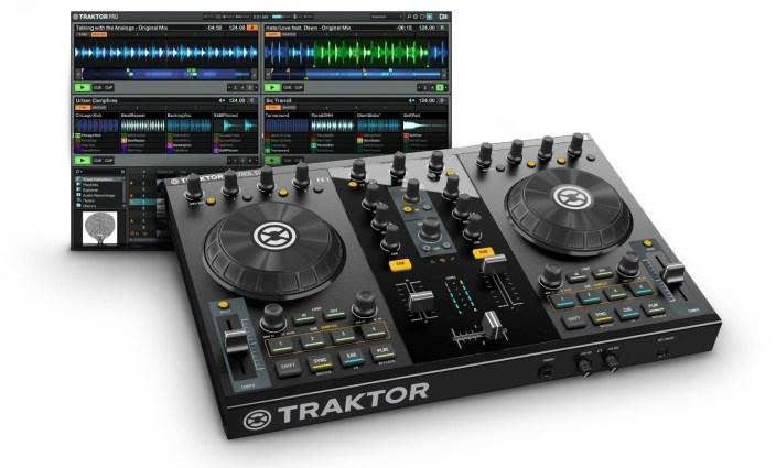 Native Instruments-Traktor Kontrol-S2-DJ Controller-sale-01