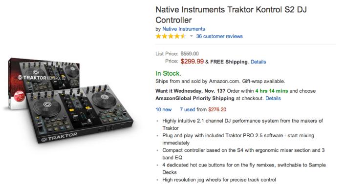 Native Instruments-Traktor Kontrol-S2-DJ Controller-sale-03