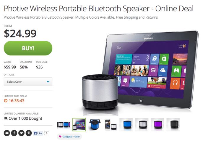 Photive Wireless Portable Bluetooth Speaker-sale-05