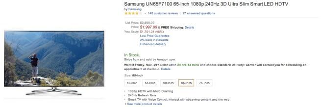 Samsung-UN65F7100-65-Inch-1080p-240Hz-3D-Ultra-Smart-LED-HDTV