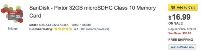 SanDisk-Pixtor-32GB-microSDHC-Memory-Card