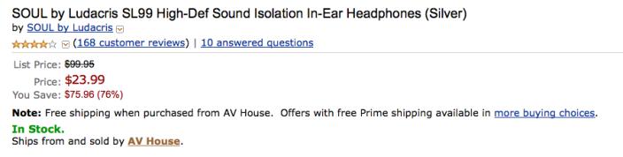 soul-in-ear-headphones-amazon-deal