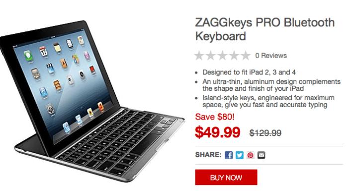 zaggkeys-ipad-keyboard-staples-deal