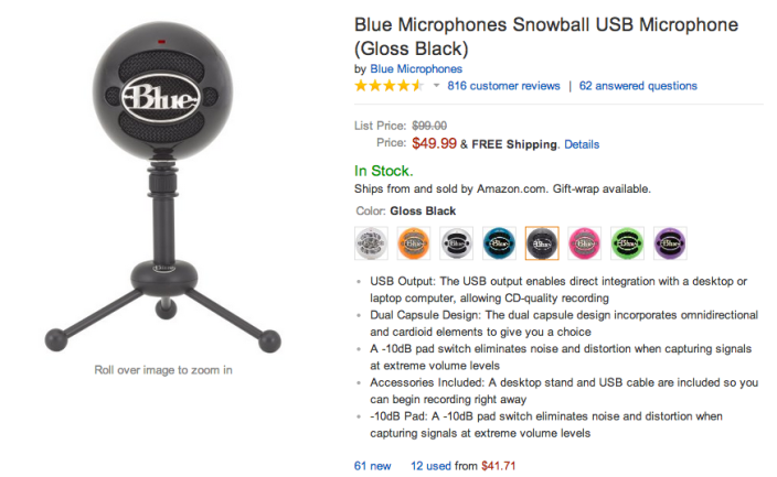 Blue Microphones Snowball USB-sale-04