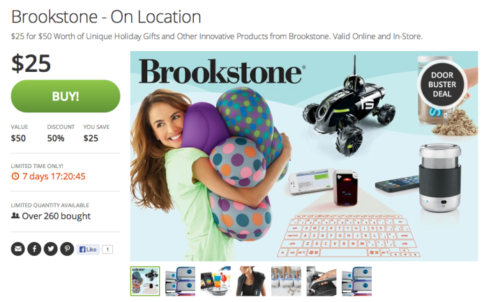 Brookstone-credit-groupon-sale-gift card-50for25-01
