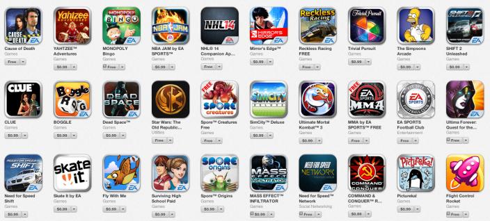 EA-iOS-game-sale