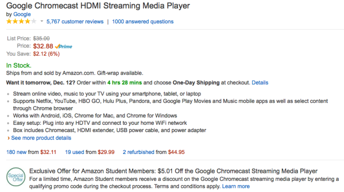 google-chromecast-deal-amazon