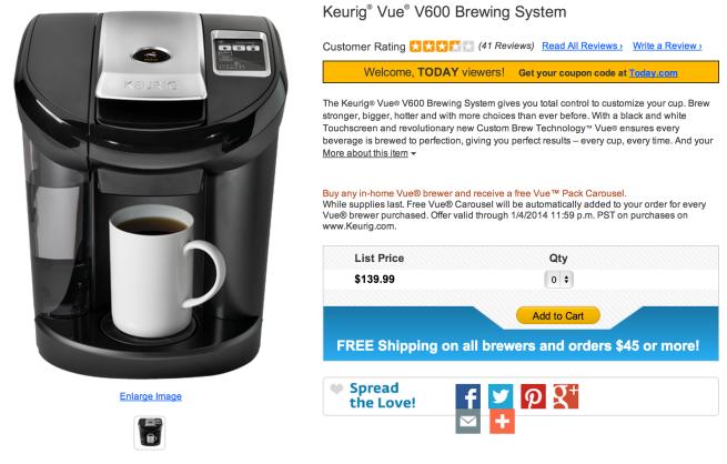 Keurig-V600-Brewing-System