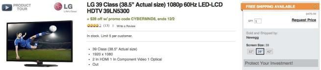 LG-39%22-1080p-60Hz-LED-HDTV-39LN5300