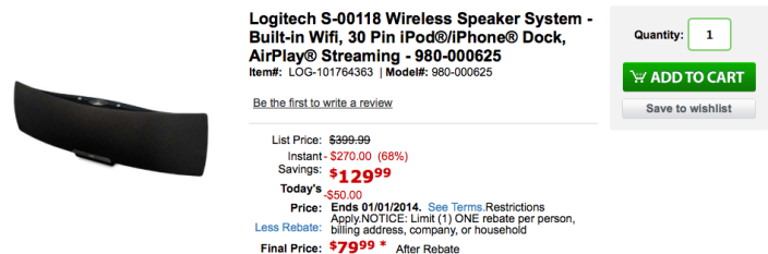 logitech-airplay-speaker-deal