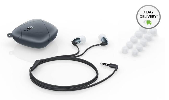 Logitech-Ultimate Ears 350vm noise isolating earbuds-$17-shipped