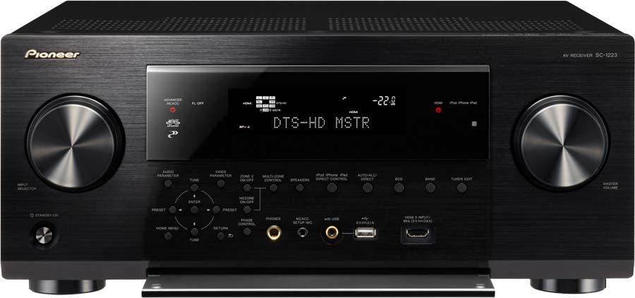 Pioneer SC-1223-K 7.2-Channel Network
