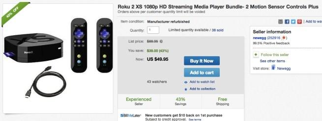 Roku-2-XS-1080p-HD-Streaming-Media-Player-Bundle-2-Motion-Sensor-Controls