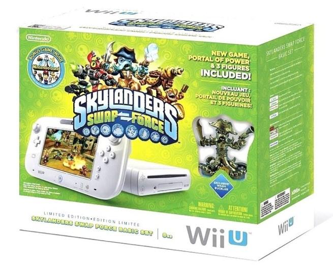 Skylanders SWAP Force-Limited Edition-Nintendo Wii U-bundle-sale-01