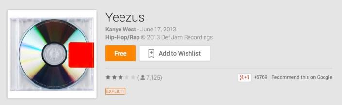 Yeezus-album-free-Google Play