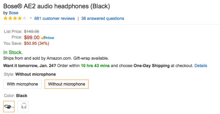 Bose-AE2-headphones-amazon-deal