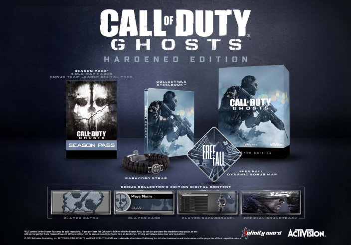 Call of Duty- Ghosts Hardened Edition-sale-PS3-360